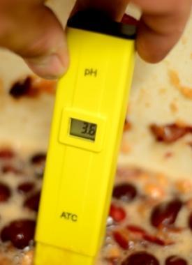 digitális pH-mérő